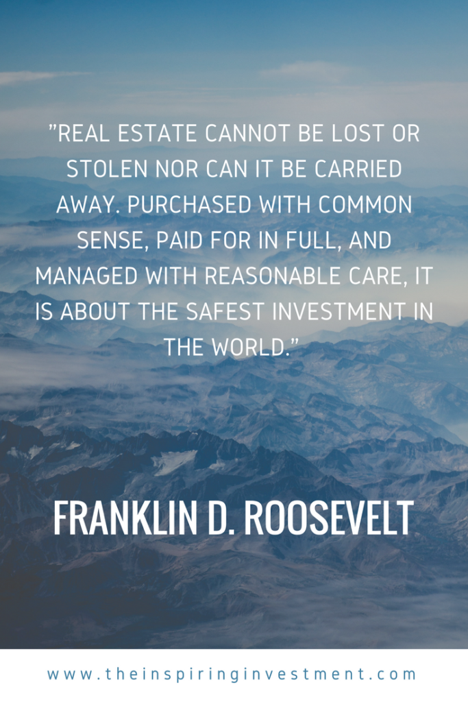 Real Estate Quotes The Inspiring Investment